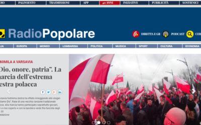 L'uomo col cappello, Adelante – Radio Popolare, 28.05.2015