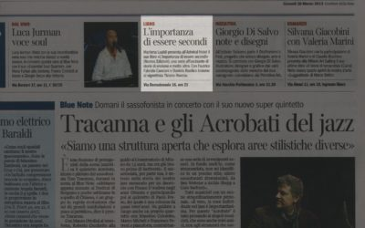L'importanza di essere secondi, Corriere della Sera – Milano, 28.03.2013