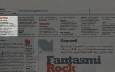L'importanza di essere secondi, La repubblica – Milano, 28.03.2013