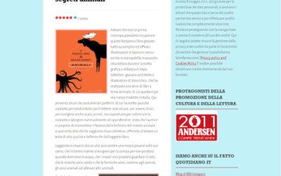 Il piccolo libro dei grandi segreti animali, biblioragazziletture.worpress.com, 10.12.2017