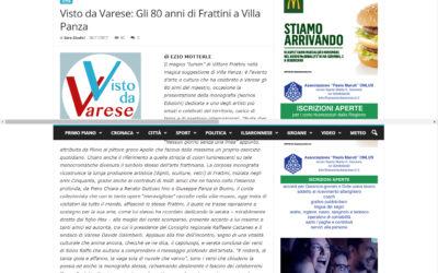 Vittore Frattini. Nulla dies sine linea, ilsaronno.it, 26.11.2017