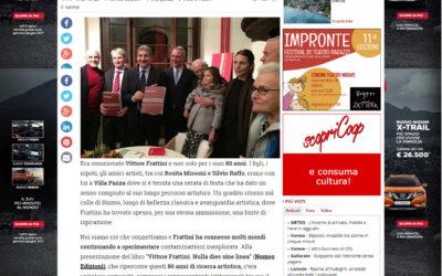 Vittore Frattini. Nulla dies sine linea, varesenews.it, 23.11.2017