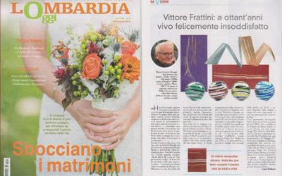 Vittore Frattini. Nulla dies sine linea, Lombardia Oggi, 26.1.2018