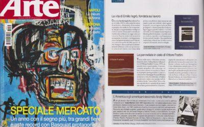 Vittore Frattini. Nulla dies sine linea, Arte, gennaio.2018