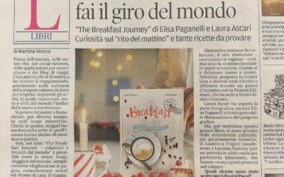 The Breakfast Journey, Gazzetta di Modena, 27.12.2017