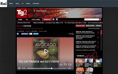 Avocado, TG2 Eat Parade, 02.11.2018