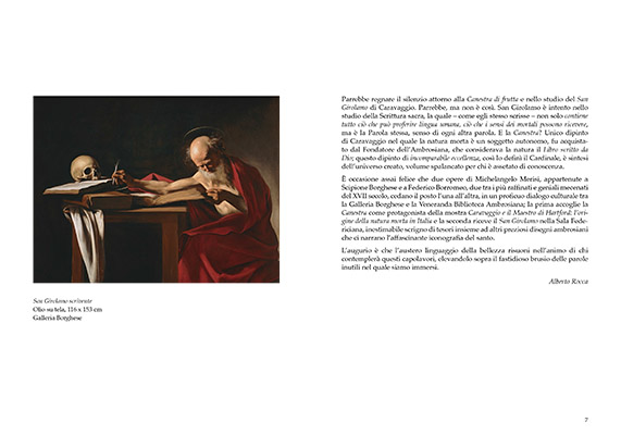 Caravaggio. San Girolamo scrivente 1