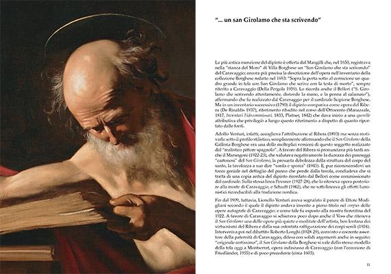 Caravaggio. San Girolamo scrivente 2