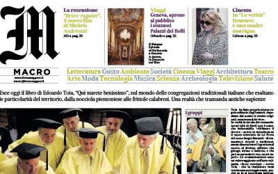 Qui starete benissimo, Il Messaggero, 10.10.2019